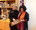 Dr Kiran meets Australian Foreign Minister Ms Julie Bishop