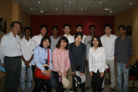 Team from University of Tokyo visits Asha