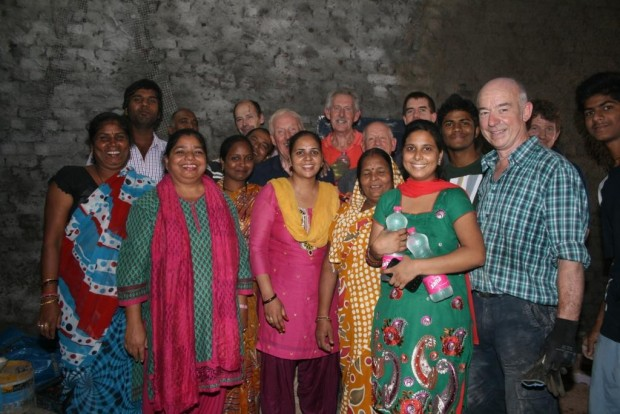 Team from Ballymena, Northern Ireland visits Asha