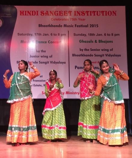 Asha children performing cultural danace