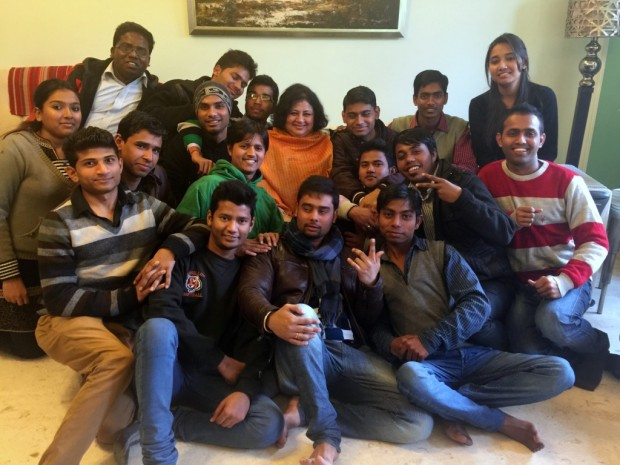 Young adults from the slums achieving their dreams