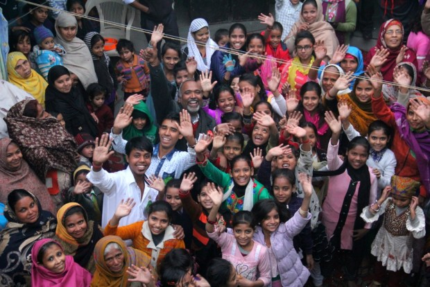 Christmas Celebrations at slums