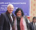 Hon Alex Chernov AC QC, Governor of Victoria, Australia visits Asha
