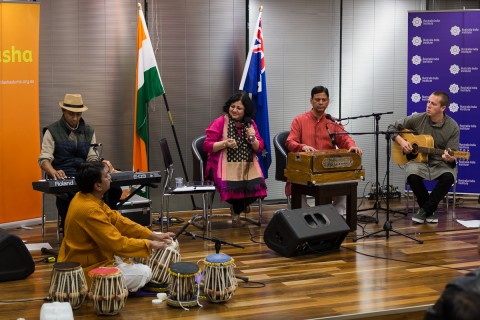 Reception in honour of Dr Kiran in Consulate General of India, Melbourne