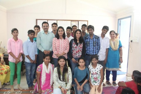 Team from BHP Billiton visit Asha