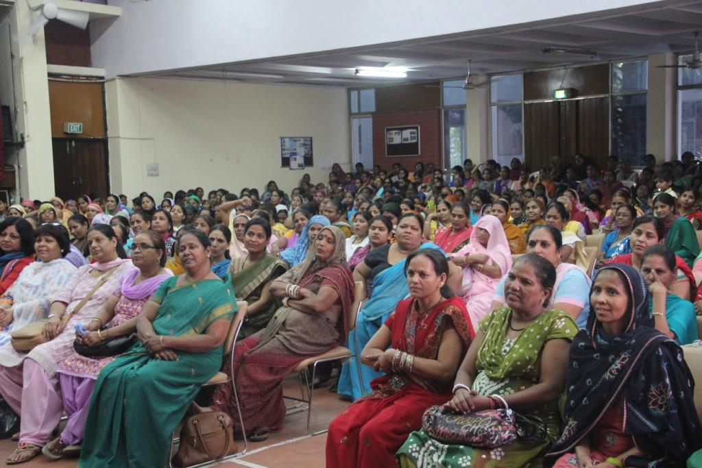 Mahila Mandal members at the Meeting