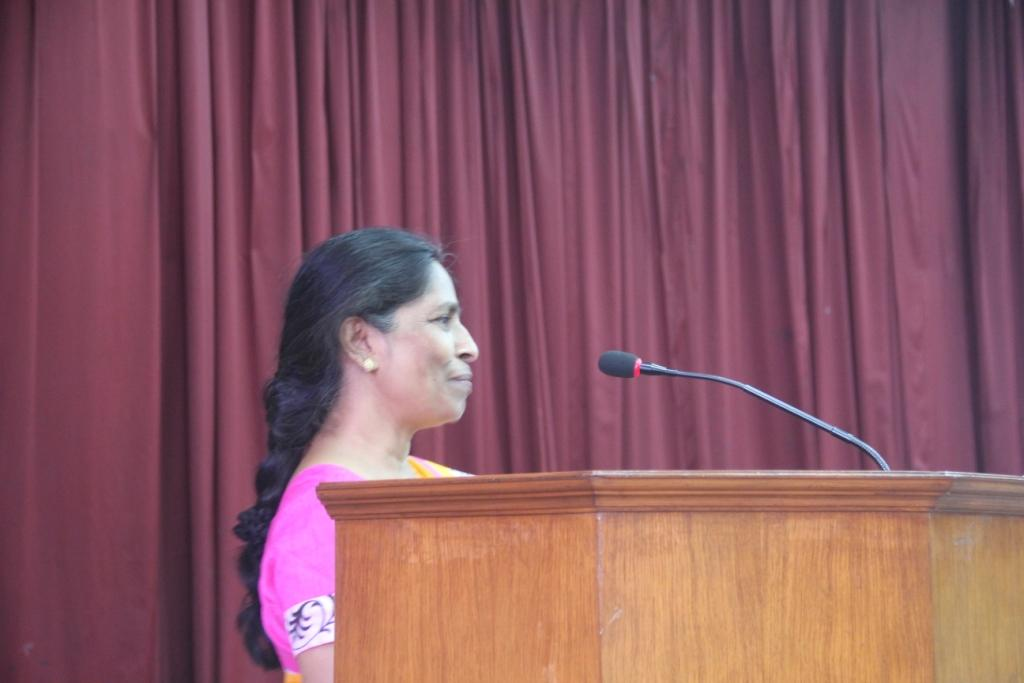Raj Kumari sharing her journey with Asha