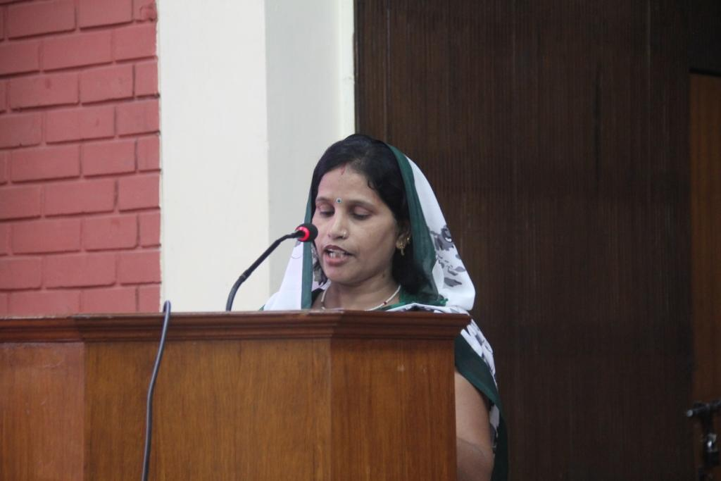 Sunita, Mahila Mandal member shared about the transformation in her life