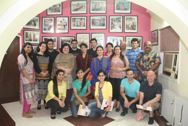 Macquarie Team visits Asha