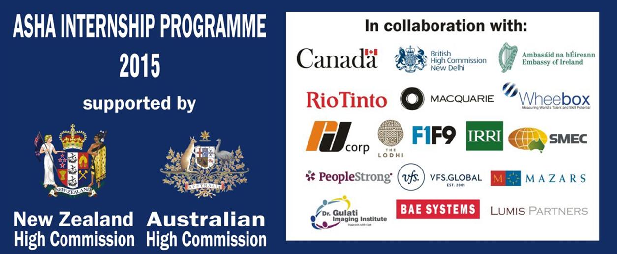 Asha Internship Programme 2015