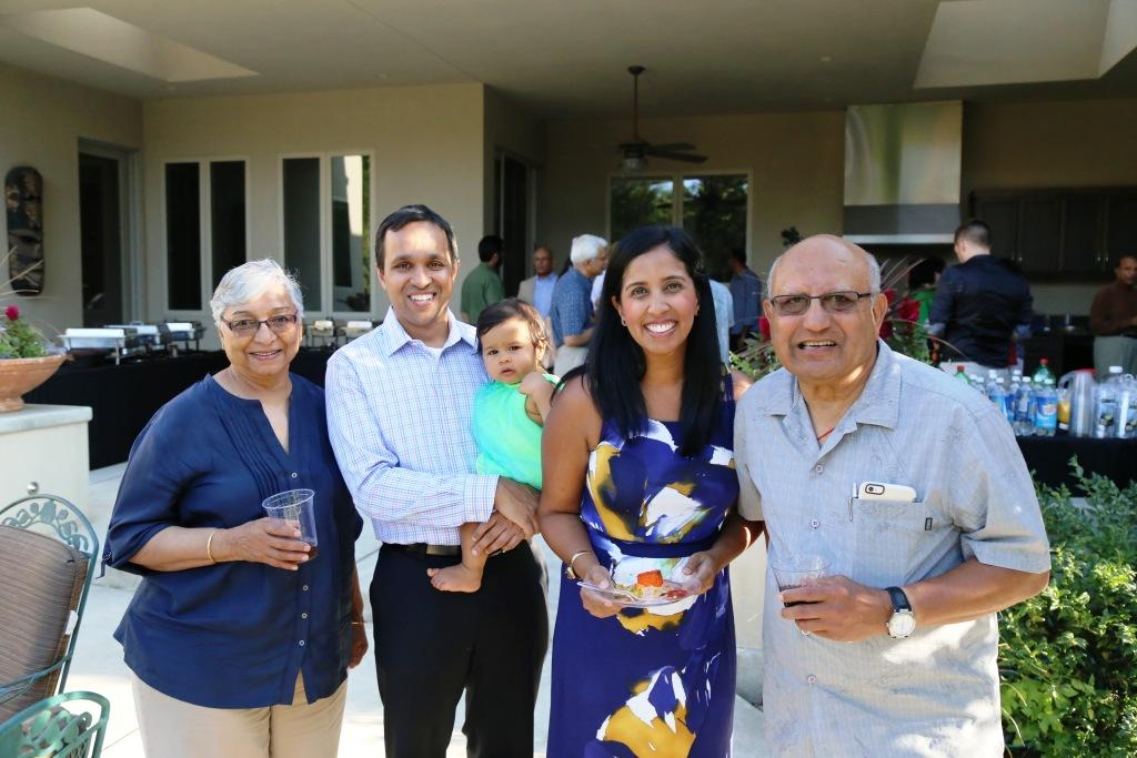 The wonderful Asha advocates - Rohit and Mridula Patel