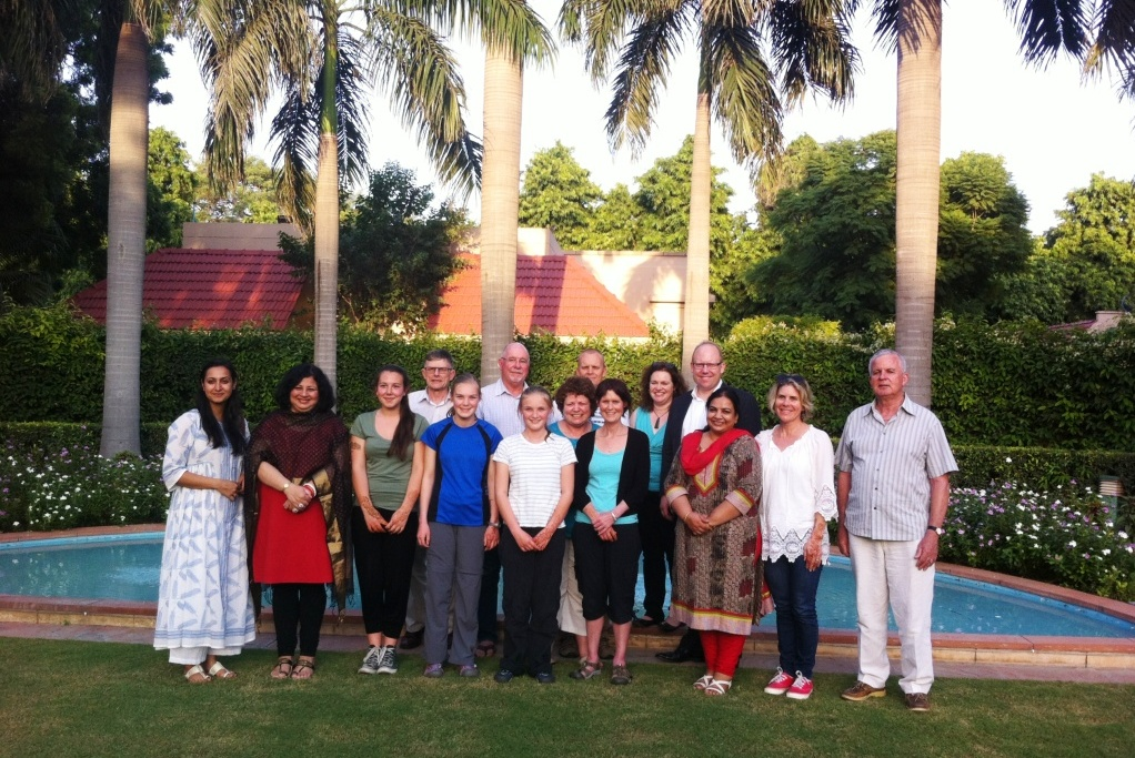 The TEAR Fund team was invited by New Zealand High Commissioner, HE Grahame Morton at his residence. A huge thank you to Mr Morton and the high commission for extending their warm hospitality to our guests.