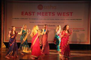 Ballymena Academy students performing on Wakka Wakka