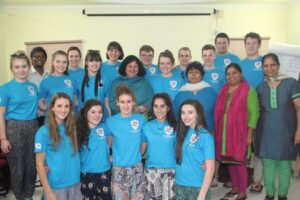 The Ballymena group with Dr. Kiran at the Asha Headquarters in Delhi