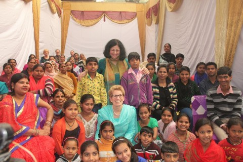 Ontario Premier, Kathleen Wynne visits Asha