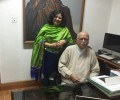 Dr Kiran's meeting with Mr LK Advani