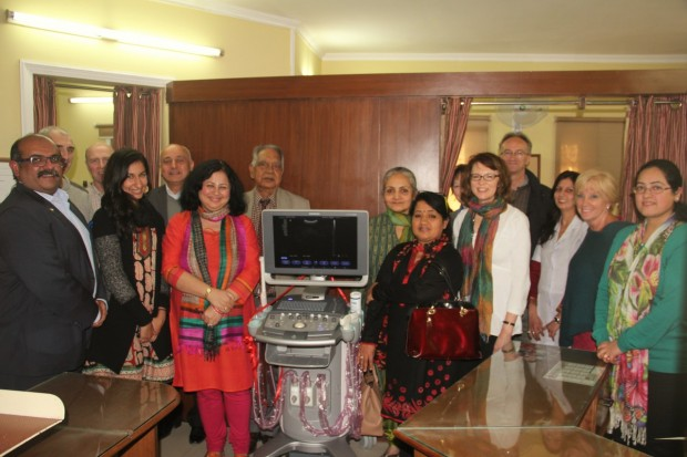 Macquarie Global Services donates medical equipment
