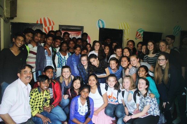 American Embassy School visits Asha