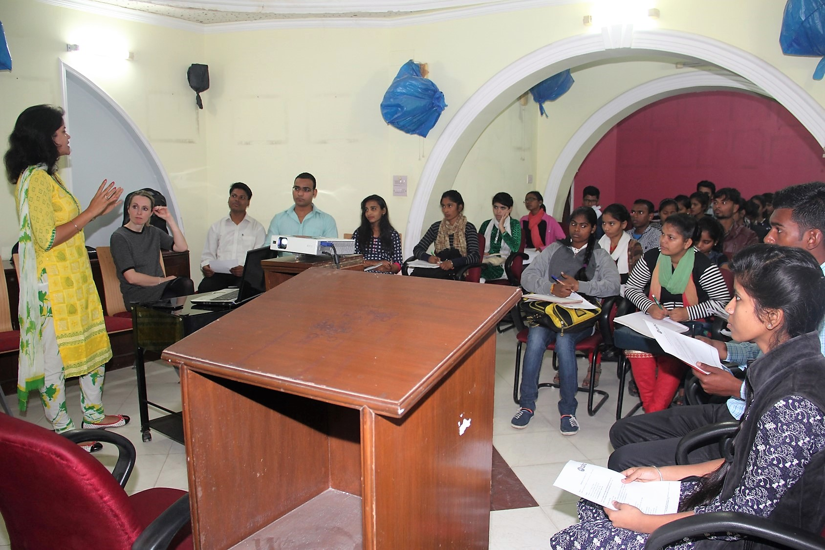 Asha Students Prepare For Internships Asha India