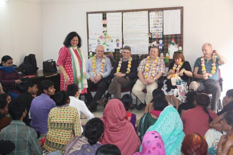McClay Foundation visits Asha