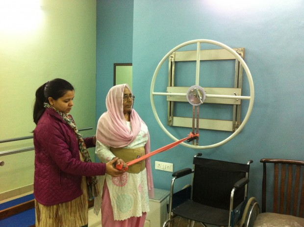 Physiotherapy Centre changing attitudes at Ekta Vihar slum colony