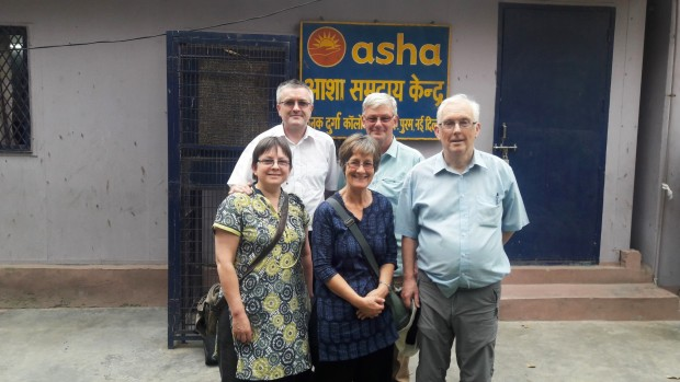 Asha welcomes volunteers from Yeovil, UK