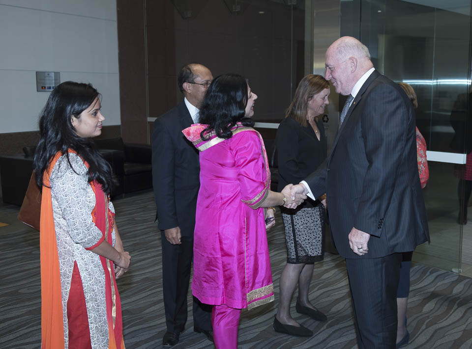 Dr Kiran and Usha meet GG