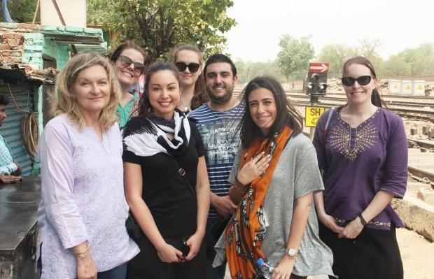 Team from Australian High Commission visits Asha