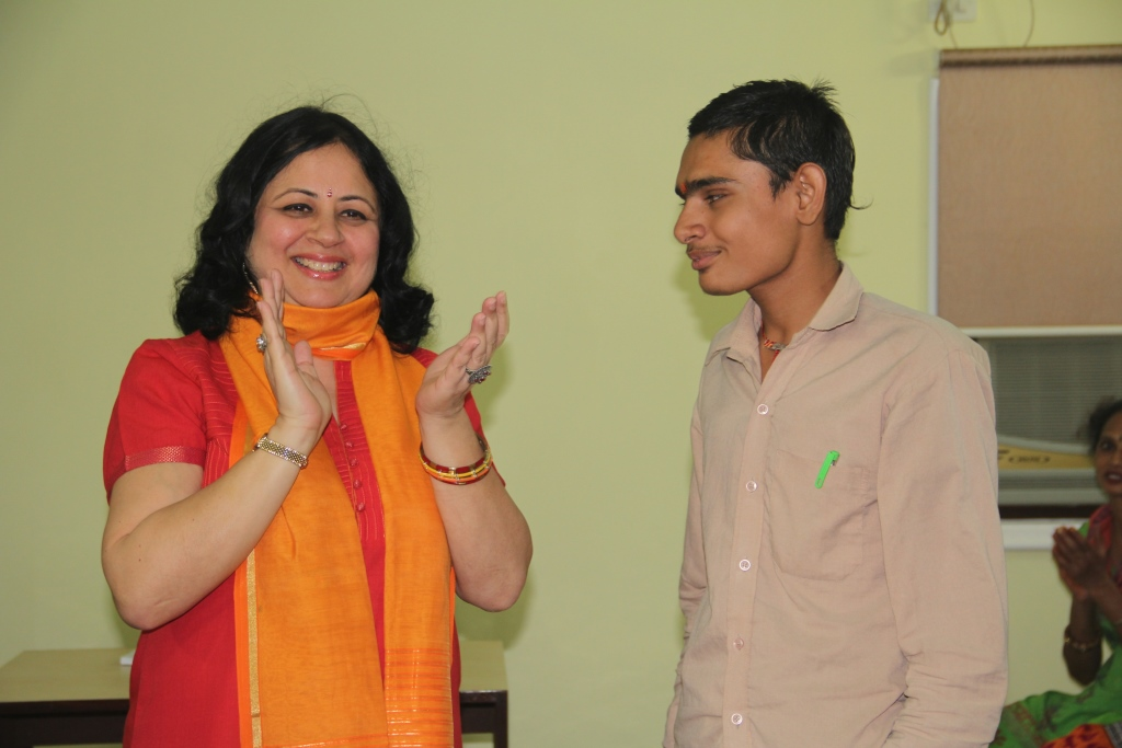 Santosh, a student with hearing disability is one of the toppers this year