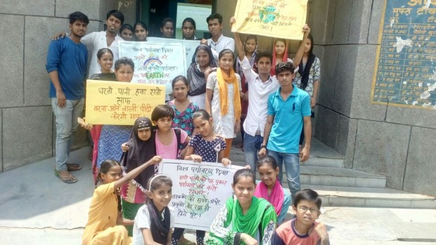 World Environment Day celebration at Asha Slums