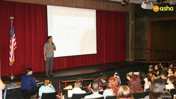 Vintage High School, USA hosts Freddy Martin