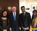 Dr. Kiran meets with the New Zealand Prime Minister Rt Hon. John Key