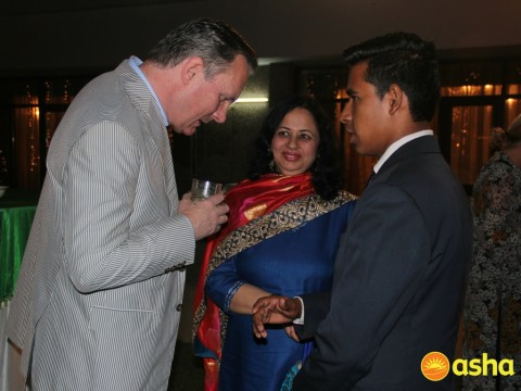 Irish Ambassador hosts Asha and volunteer teams