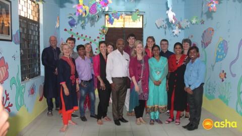 Team St. Stephens Church volunteered at Asha