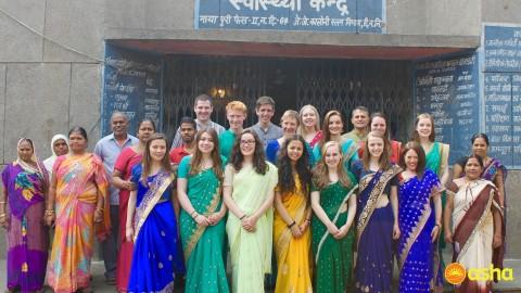 Wallace High School volunteers at Asha