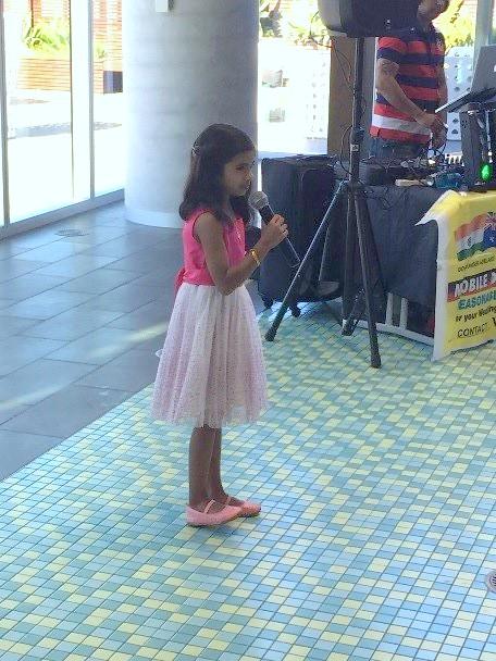 """Vasha performing """"Vara Leela"""""""