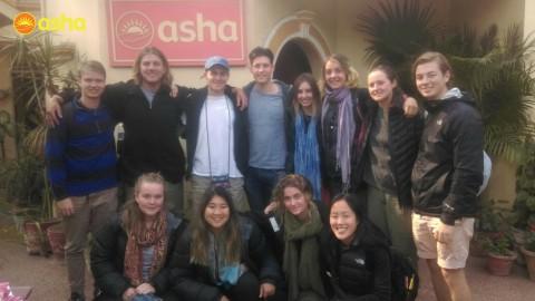 Team Trinity spreads joy at Seelampur