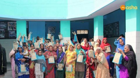 International Women's Day celebration with Asha's Corporate Partners