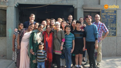 Team River from New York spreads happiness at Asha