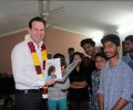 Australian Senator Hon. Mathew Canavan celebrates Women's Day at Asha