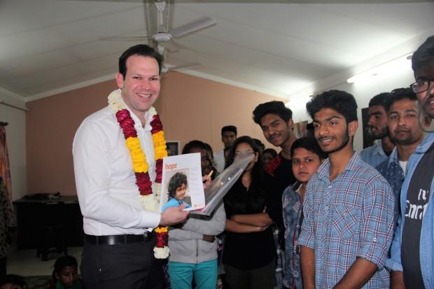 Australian Senator Hon. Mathew Canavan visits Asha