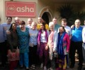 Team Ballymena volunteers at Asha