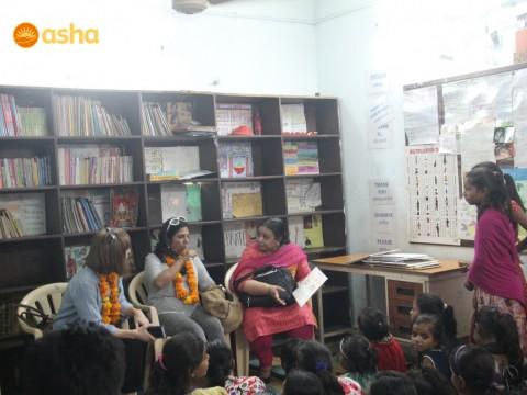 CanAssist Chair, Jennifer Graham visits Asha