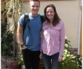 Dave and Chloe from River Church UK volunteered at Asha