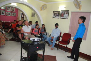 Asha's University student Sandeep from Peeragarhi sharing his humbling journey with Asha.