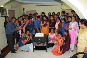 Asha toppers with Dr Kiran and Asha team
