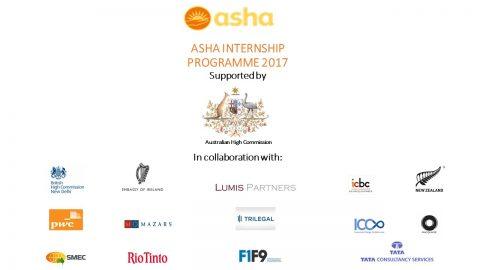 Asha Internship Programme 2017