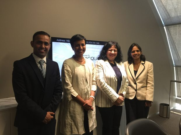 Dr Kiran hosted by Macquarie at their HQ in Sydney