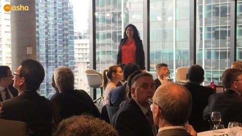 Dr Kiran and Mahinder hosted by PricewaterhouseCoopers (PwC) in Melbourne