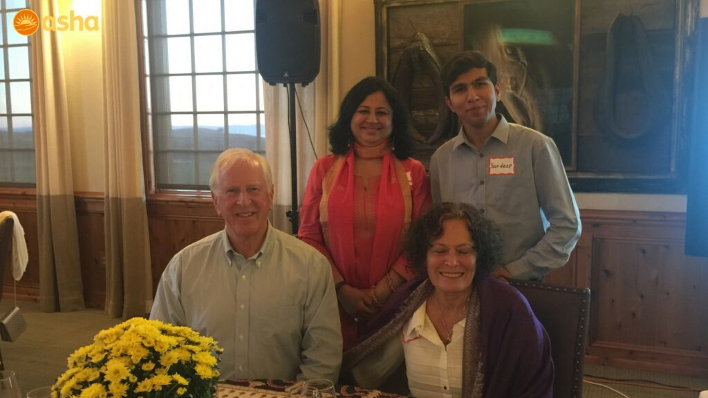 Sandeep and I with our honored Guests Congressman Mike Thompson and his wife Jan Thompson